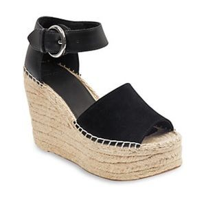 Marc Fisher Suede & Leather Alida Espadrille 5M